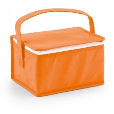 Bolsa térmica. Non-woven: 80 g/m². Capacidade: 6 latas de 0,33L.