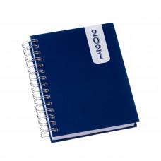 501L   Agenda Wire-o Capa Prime Azul com Milênio