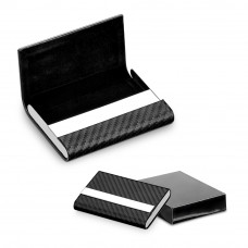 93280 MILLARD. Porta cartões Porta cartões. Metal e c.sintético. Incluso caixa. 95 x 64 x 13 mm