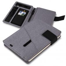 CAD220-CZ Caderno de anotações com powerbank