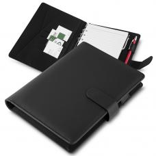 CAD200 Caderno de anotações, tipo fichario, com powerbank