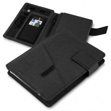 CAD220-PT Caderno de anotações com powerbank