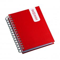 Agenda Wire-o Capa Prime Vermelha 503L