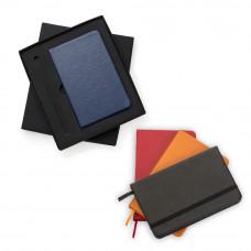 Conjunto Estojo e Caderneta tipo Moleskine 13017