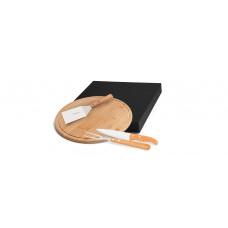Conj. Para Churrasco / Pizza Em Bambu MB-10173