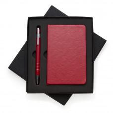 Conjunto Caneta e Caderneta tipo Moleskine 13017