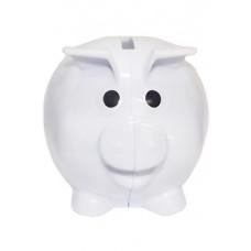 Cofre Porquinho Branco Cod. 12481